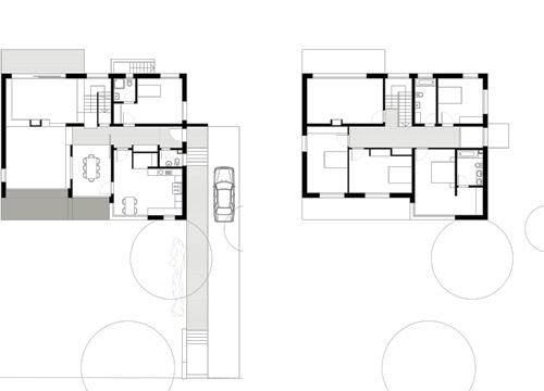 Grundriss einfamilienhaus architekt  tm architekten: Haus Schmidt